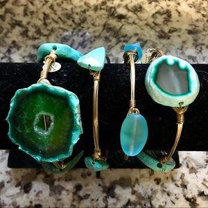 Bourbon and Bowties Jewelry - 4 Bracelet Bundle